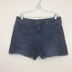 Talbots Women's Jeans Shorts Size 16 CUT OFF